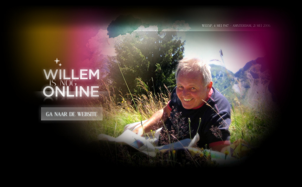 WILLEM is nog ONLINE